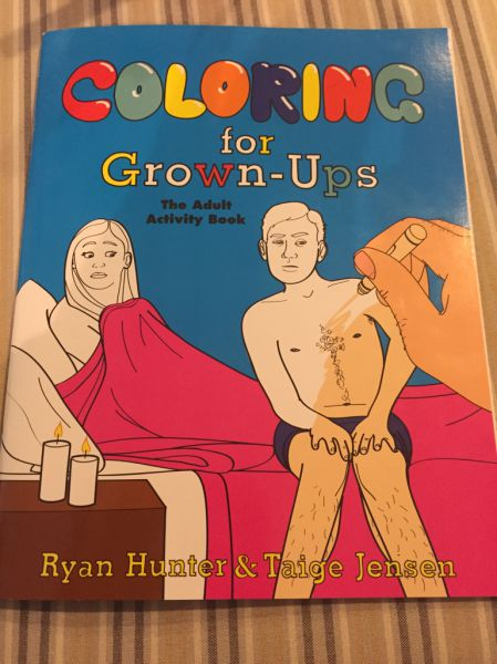 A Cool Coloring Book for Grown Ups