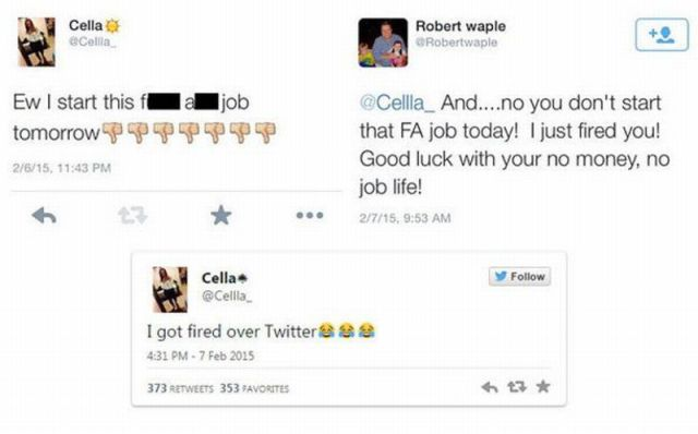 Dumb Staff Who Got Caught on Social Media by Their Employers