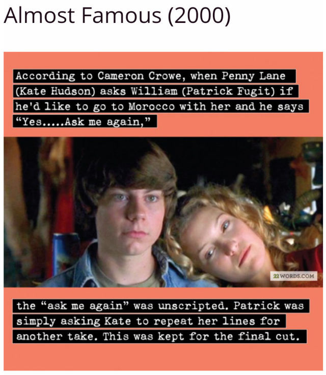 Fascinating Film Facts about Films We Know and Love