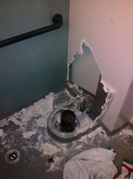 Man Gets More Than He Bargained for When His Phone Drops in the Toilet