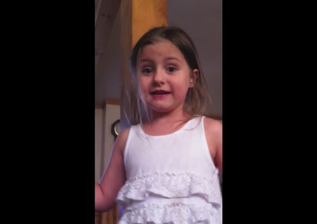 Angry 5-Year-Old Girl Threatens to Move Out