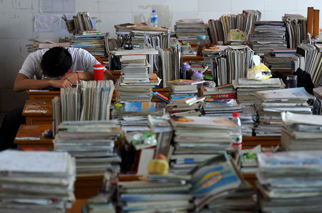 Chinese Students Take the One Test That Will Change Their Lives