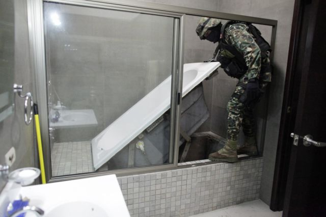 Elaborate Secret Uncovered in a Drug Lord's House