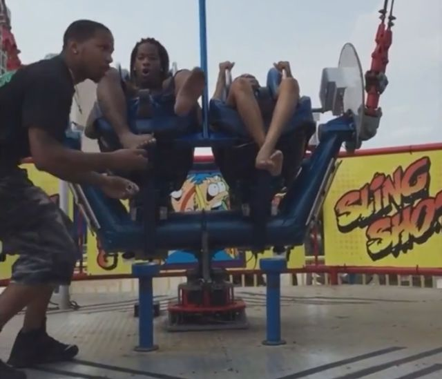 A Funny but Cruel Prank to Pull on SlingShot Riders