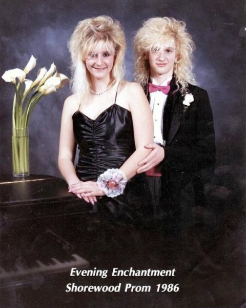 A Throwback to the 80s Proms That Will Make You Glad It's Not You in the Pics