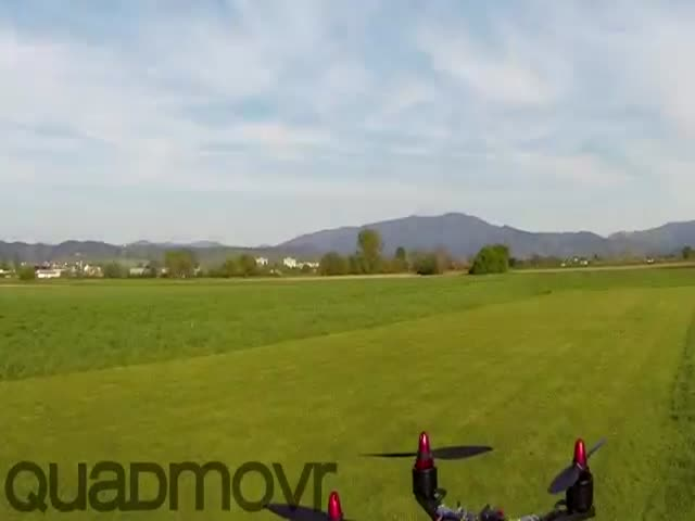 Check Out This Ridiculously Fast and Badass Supercharged Drone