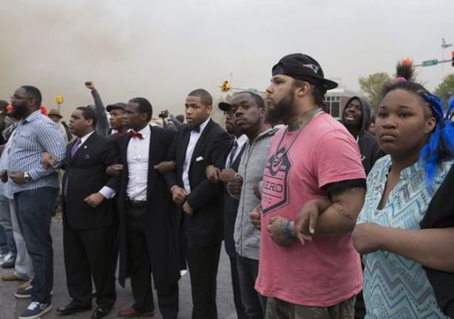 Baltimore Protest Pics That the Media Doesn't Want You to See