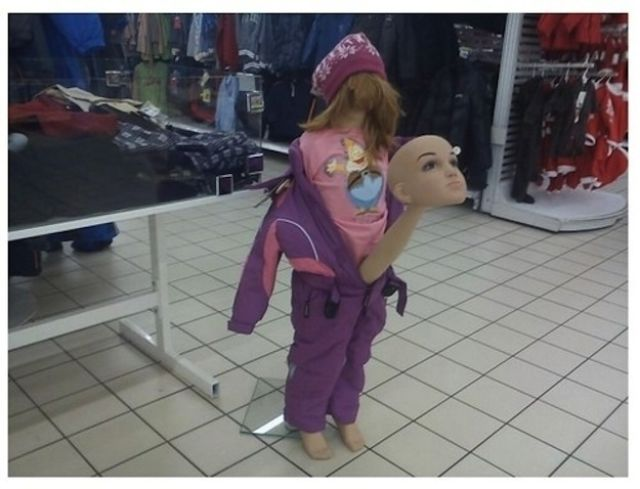 Mannequins Can Be Pretty Amusing Sometimes Too