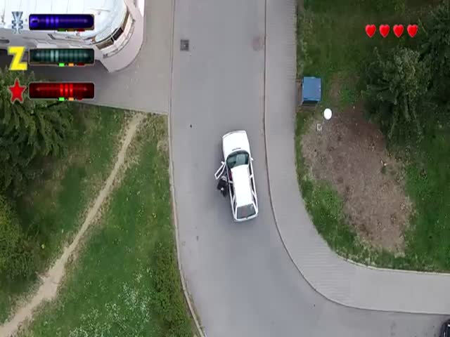 Real Life 'Grand Theft Auto 2'  (VIDEO)