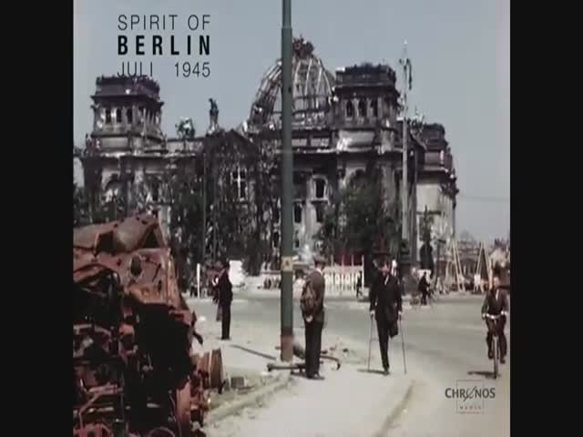 Berlin in July 1945 Seen in Color  (VIDEO)