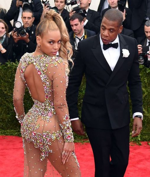 Beyonce Turns Heads in Her Nude Outfit at the Met Gala