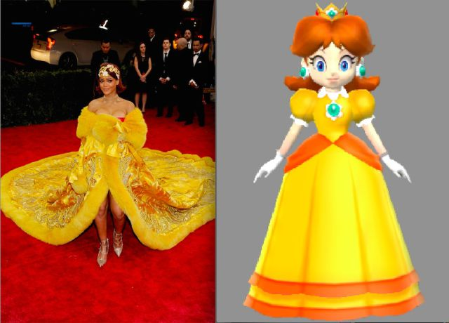 Did You Notice That Rihanna Loves Mario Party Cosplay?