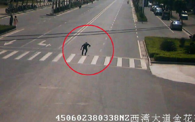 Driver Knocks Down a Pedestrian in China but Nothing Is As It Seems