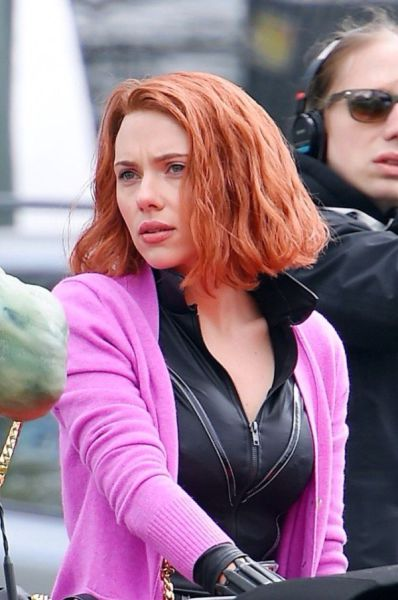 Scarlet Johannsson Makes the Perfect Black Widow