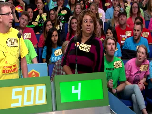 Very Awkward Moment on 'The Price Is Right'  (VIDEO)