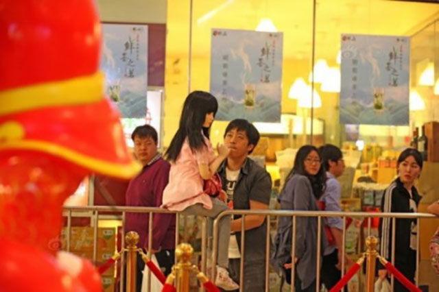 Depressed Chinese Man Chooses an Odd Method of Cheering Himself Up