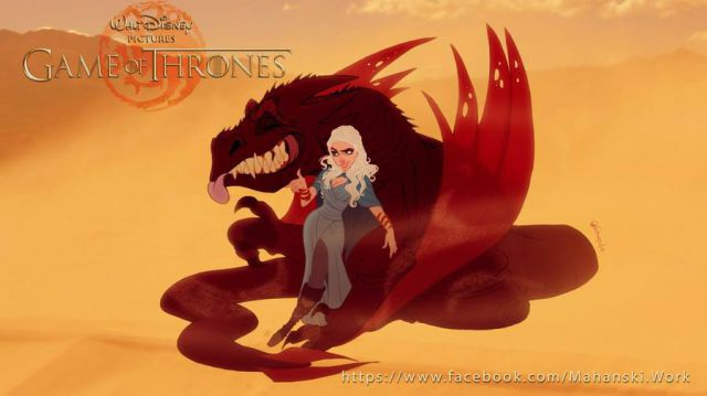 Game of Thrones Gets a Disney Makeover