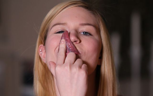 This Girl Has a Freaky Body Part That Could Set Records