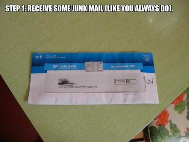 This Is One Way of Ensuring You Will Never Get Junk Mail Again