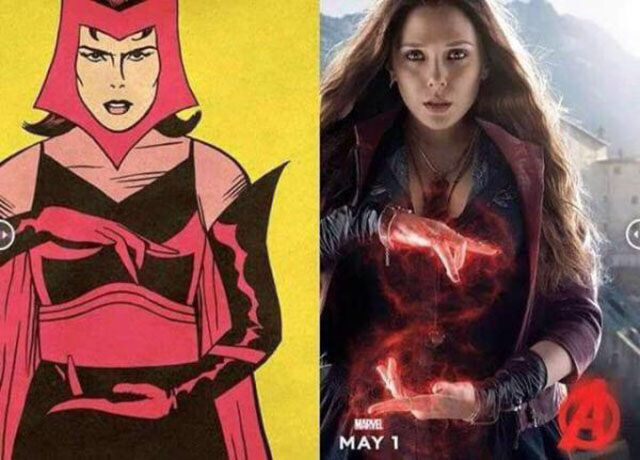 Comic Avengers Compared to Their Real Life Film Adaptations
