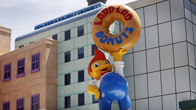 """The Simpsons"" World Is Brought to Life by Universal Studios"