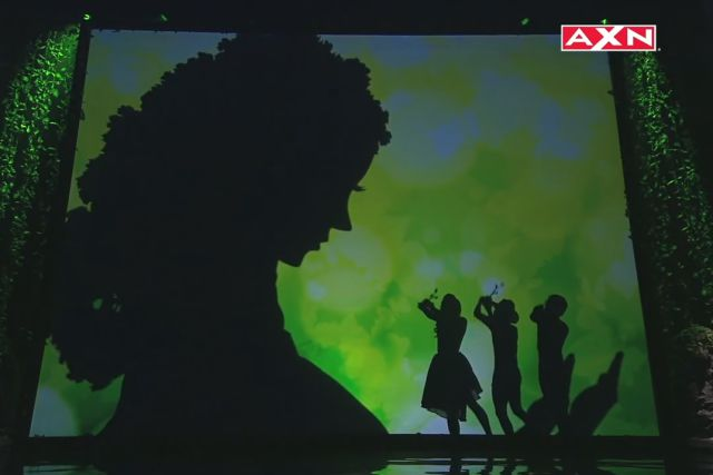 An Awesome Shadow Dance Tribute to Mother Nature on Asia