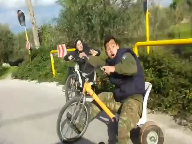 The Ultimate Unicycles and Tricycles Fails Compilation  (VIDEO)