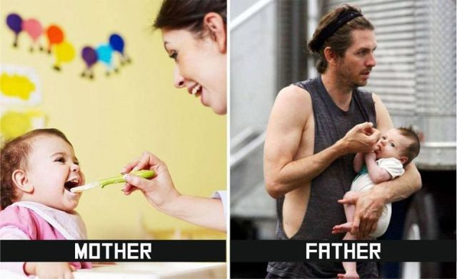Moms and Dads Have Very Different Parenting Styles