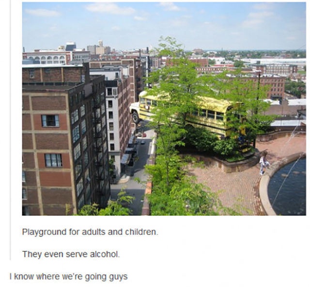 A Public Playground for Adults and Kids