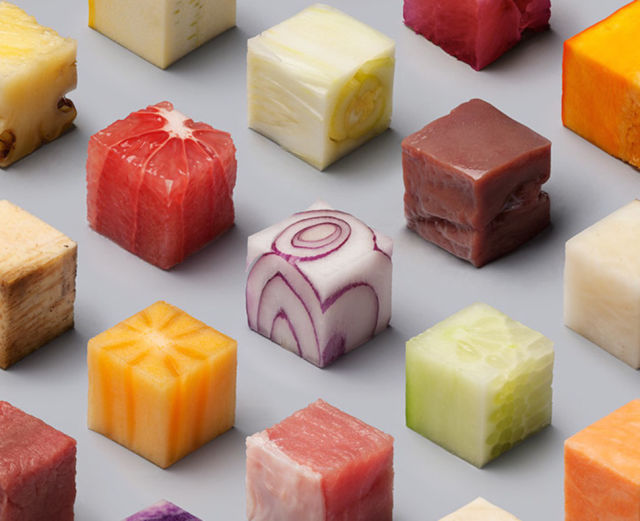 Cubed Food Is Almost Too Perfect To Eat