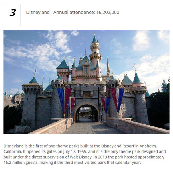 The Most Popular Theme Parks on the Planet