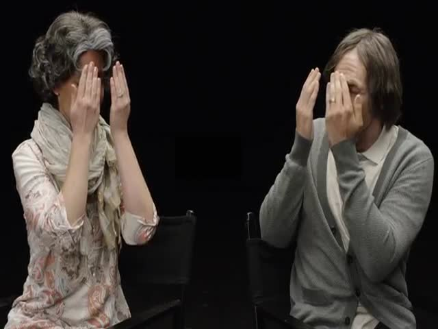 Young Engaged Couple Sees What They'll Look like in 70 Years  (VIDEO)