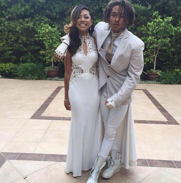 Jaden Smith's Brings the Swag in His Batman Prom Outfit