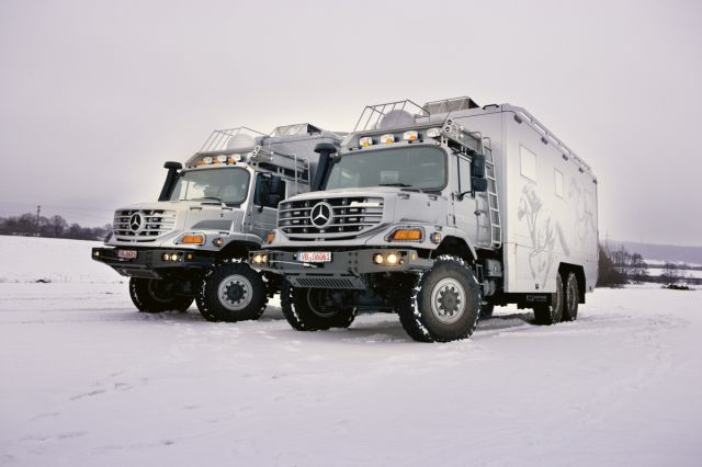 The New Mercedes Benz Zetros Is One Kick Ass Vehicle
