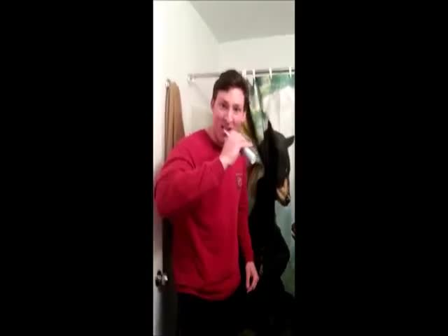 College Dude Scares Really Easily