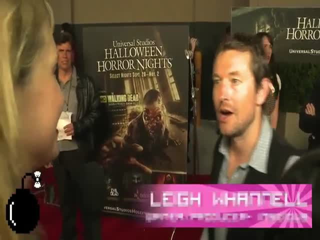 Interviewer Freaks Out and Cries after She Sees Chucky on the Red Carpet