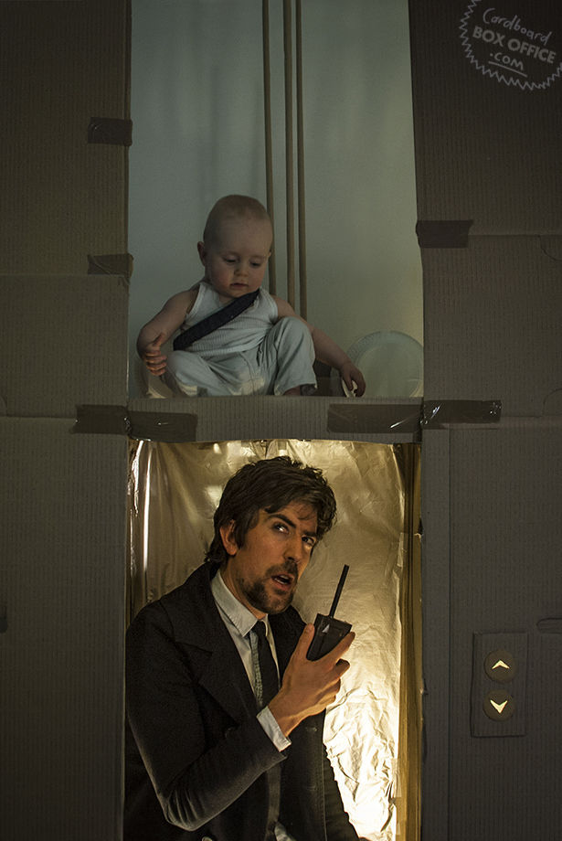 Creative Parents Have Some Fun Bringing Movie Scenes to Life with Their Baby