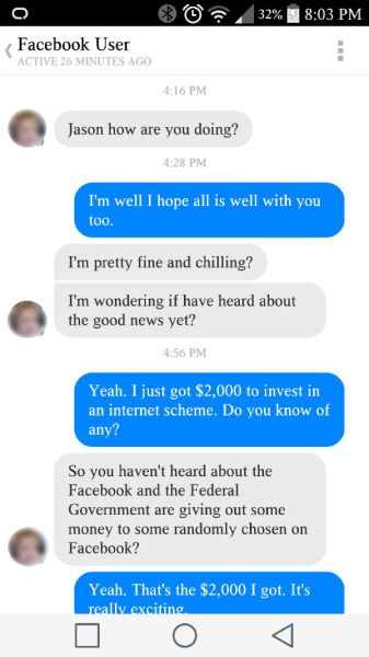 Nigerian Scammer Gets Trolled by One Funny Guy