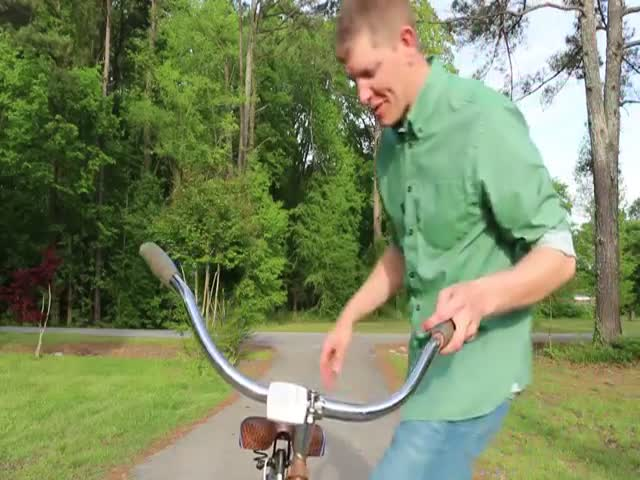 The Backwards Brain Bicycle  (VIDEO)