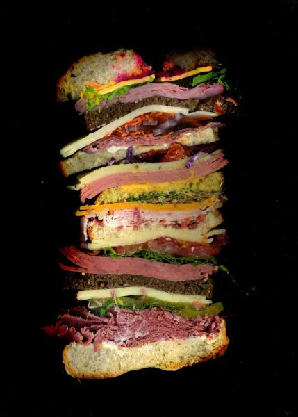 Fun Food Photos Taken from a Different Perspective