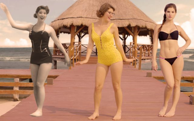 The Evolution of the Bikini