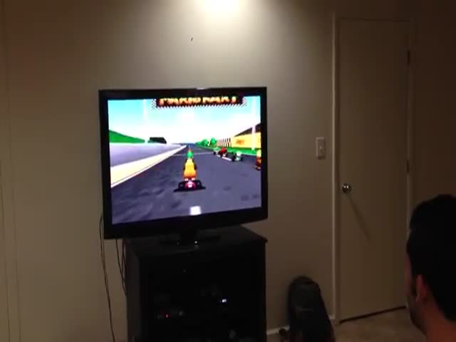The Best Way to Play Mario Kart Is a with a Live Soundtrack