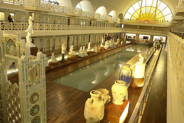 Old Town Swimming Pool Converted into a Magnificent Museum for Tourists