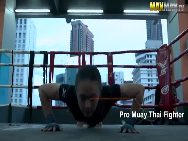 Thai Champion Pretends to Be a Nerdy Beginner