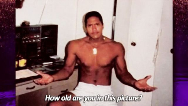 The Rock in His Teenage Years