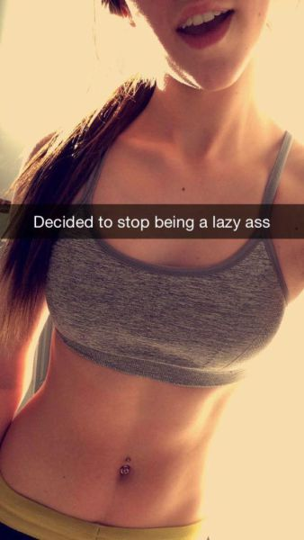 These Girls in Sports Bras Will Inspire You to Hit the Gym