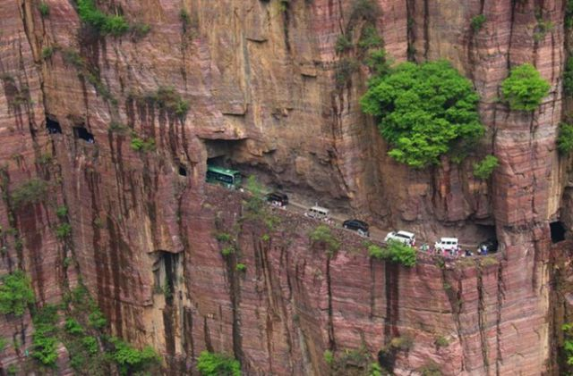 You Don't Want to Be Stuck on This Road in a Traffic Jam