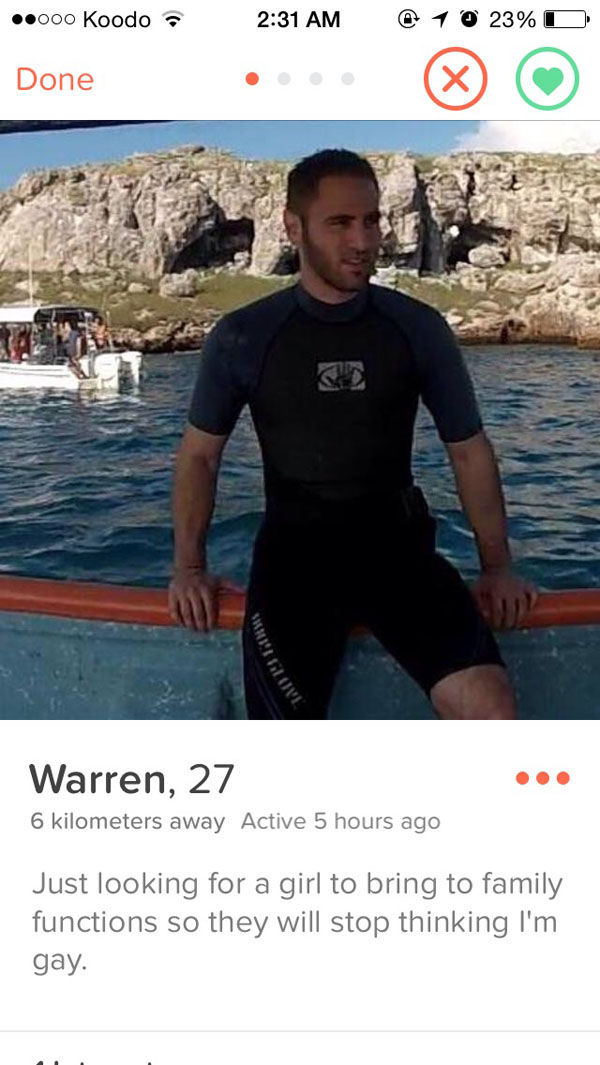 We Have Tinder to Thanks for These Gems