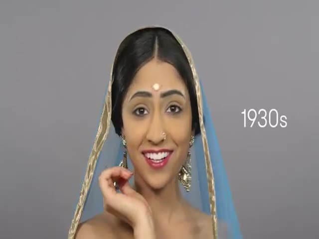 100 Years of Indian Beauty  (VIDEO)