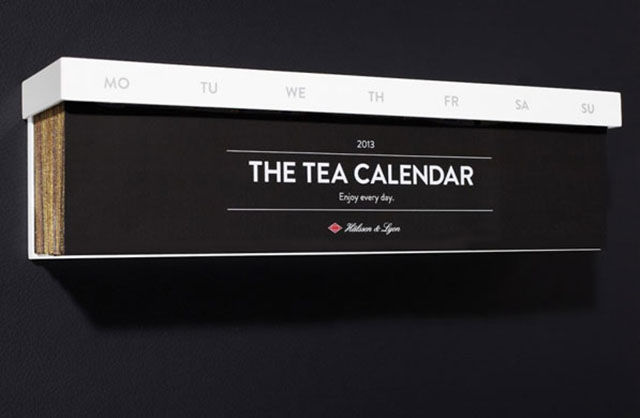 A Drinkable Tea Calendar for All the Tea Lovers in the World